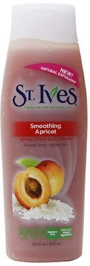 St. Ives Smoothing Apricot Exfoliating Body Wash 13.5 oz.