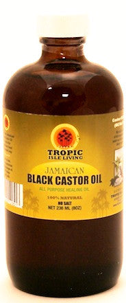 Tropic Isle Living Jamaican Black Castor Oil 8 oz.