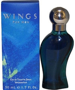 Wings by Giorgio Beverly Hills for Men Eau de Toilette Spray 1.7 oz.