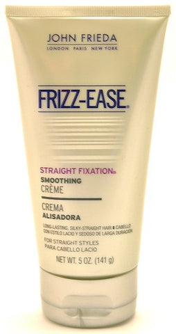 John Frieda Frizz-Ease Straight Fixation Smoothing Creme 5 oz.