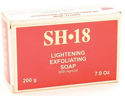 SH-18 Lightening Exfoliating Soap 7 oz.
