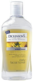 Dickinson's Witch Hazel Daily Facial Toner 16 Fl. Oz. (473 ml)