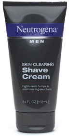 Neutrogena Men Skin Clearing Shave Cream 5.1 fl oz (150 ml)