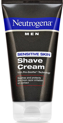 Neutrogena Men Sensitive Skin Shave Cream 5.1 oz.