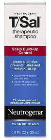 Neutrogena T/Sal Therapeutic Shampoo Scalp Build-Up Control 4.5 oz.