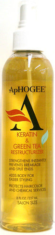 ApHogee Keratin & Green Tea Restructurizer 8 Fl. Oz. (237 ml)