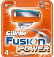 Gillette Fusion Power Refills 4 Cartridges
