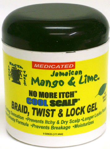 Jamaican Mango & Lime No More Itch Cool Scalp Gel 6 Oz.