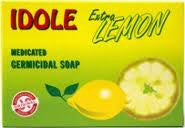 Idole Extra Lemon Medicated Soap 2.82 oz.