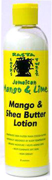 Jamican Mango & Lime Shea Butter Lotion 8 oz.