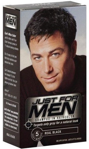 Just For Men Shampoo-In Hair Color One Application