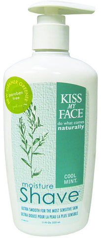 Kiss My Face Moisture Shave Cool Mint 11 oz.