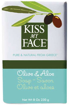 Kiss My Face Olive & Aloe Soap 8 oz.