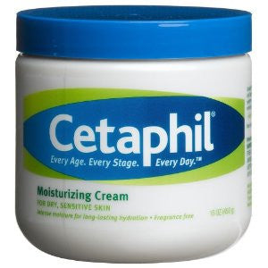 Cetaphil Moisturizing Cream Fragrance Free 16 oz.