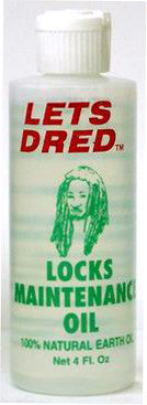 Lets Dred Locks Maintenance Oil 4 Oz.