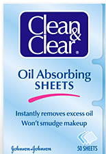 Clean & Clear Oil Absorbing Sheets 50 ct.