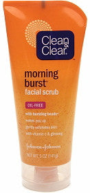 Clean & Clear Morning Burst Facial Scrub 5 oz.