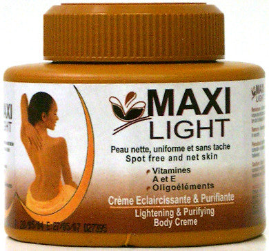 Maxi Light Lightening & Purifying Body Creme 19.4 oz
