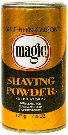Magic Fragrant Shaving Powder Gold 4.5 Oz