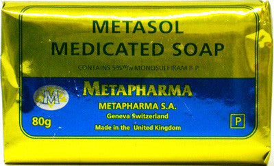 Metasol Medicated Soap 80 g