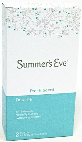 Summer's Eve Douche Fresh Scent 2 Units