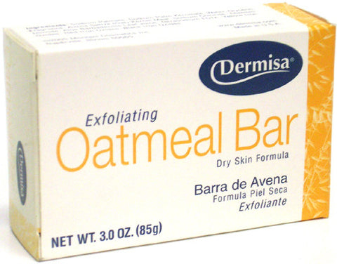 Dermisa Exfoliating Oatmeal Bar Dry Skin 3 Oz.