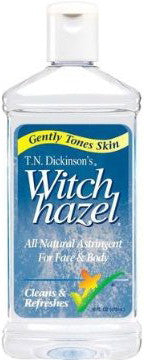 T.N. Dickinson's Witch Hazel All Natural Astringent For Face & Body 16 oz.