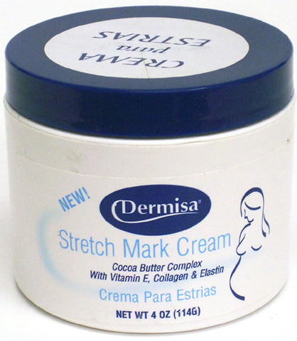 Dermisa Stretch Mark Cream 4 Oz.