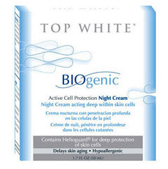 Top White Biogenic Active Cell Protection Night Cream 1.7 oz.