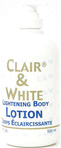 Clair & White Lightening Body Lotion 500 ml