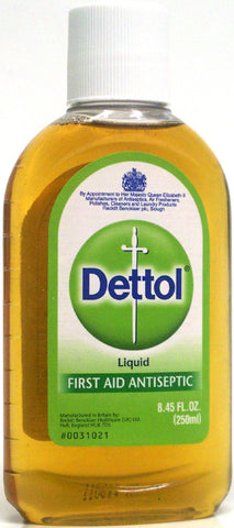 Dettol First Aid Antiseptic Liquid 8.45 oz (250 ml)