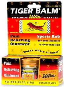 Tiger Balm Ultra Strength Sports Rub Concentrated 0.63 oz.