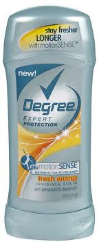 Degree Women Expert Protection Invisible Anti-Perspirant Deodorant Fresh Energy 2.6 oz.