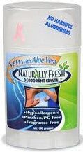 Naturally Fresh Deodorant Crystal Wide Stick 3 oz.