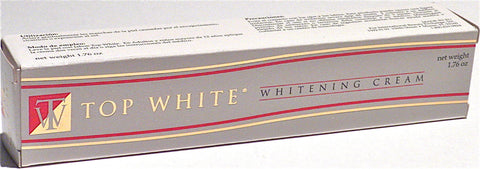 Top White Whitening Cream 1.76 oz.