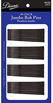 "Diane Jumbo Bob Pins Black 2 1/2"" 40-Pack"