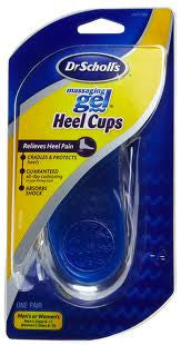 Dr. Scholl's Massaging Gel Heel Cups One Pair