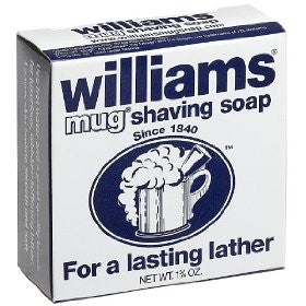 William's Mug Shaving Soap 1.75 oz.
