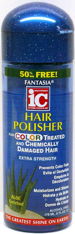 Fantasia IC Hair Polisher For Color Treated and Chemically Damaged Hair Bonus Size 6 Fl. Oz. (178 ml)