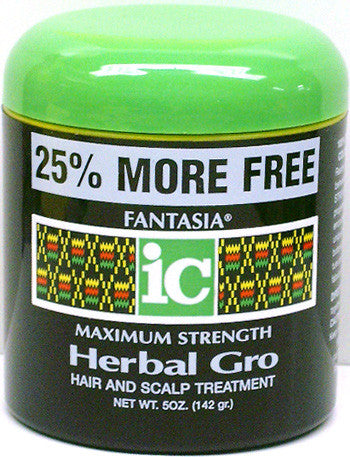Fantasia IC Herbal Gro Maximum Strength Net Bonus Size Wt. 5 Oz. (142 g)