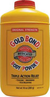 Gold Bond Triple Action Medicated Body Powder 10 oz.