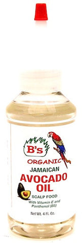 B's Organic Jamaican Avocado Oil 4 oz.