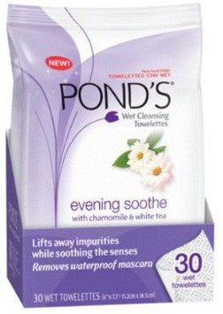 Pond's Evening Soothe Wet Cleansing Towelettes 30 ea.