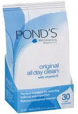 Pond's Original All Day Clean Wet Cleaning Towelettes 30 ea.