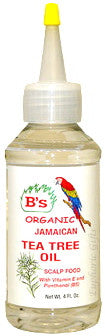B's Organic Jamaican Tea Tree Oil 4 oz.
