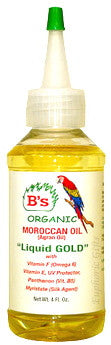 "B's Organic Moroccan Oil (Argan Oil) ""Liquid Gold"" 4 oz."