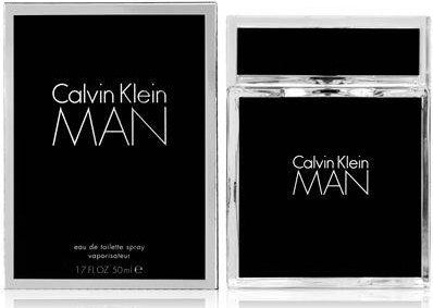 Man by Calvin Klein For Men Eau de Toilette Spray  1.7 oz.