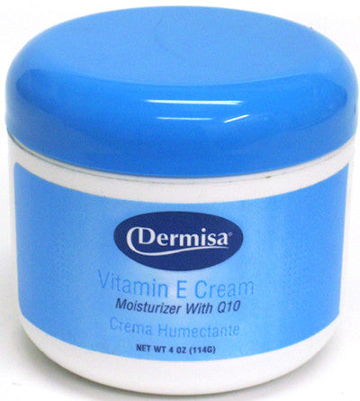 Dermisa Vitamin E Cream 4 Oz.