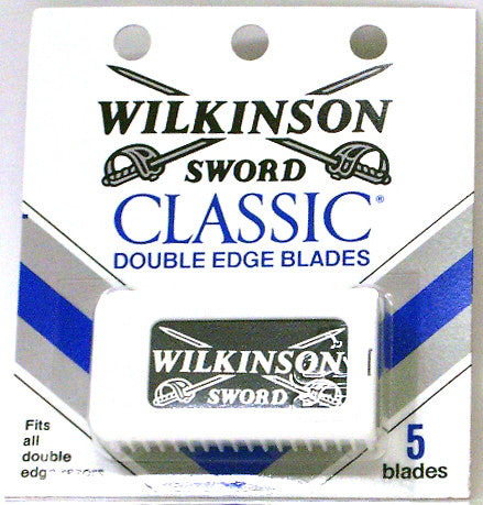 Wilkinson Sword Classic Double Edge Blades 5 Count