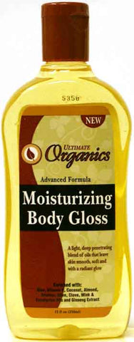 Ultimate Organics Moisturizing Body Gloss 12 Fl. Oz. (356 ml)
